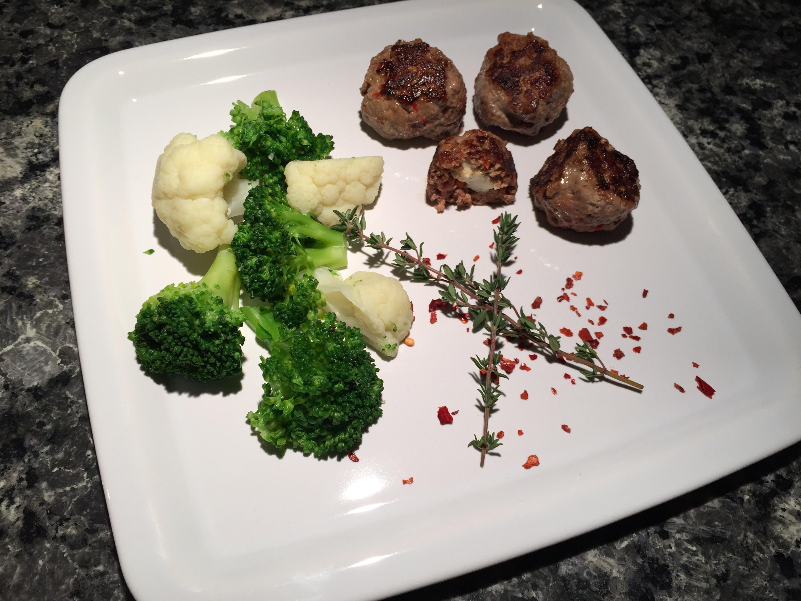 Feta-Meatballs