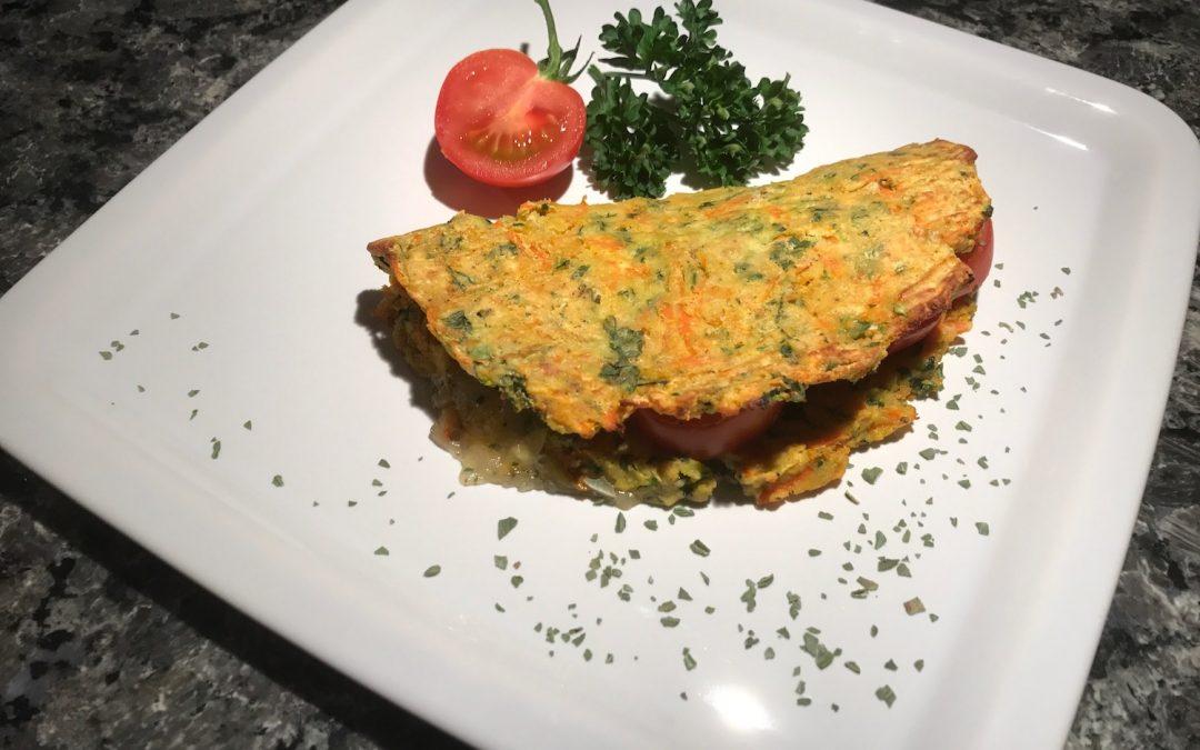 Low Carb Tacco mit Tomate Mozzarella