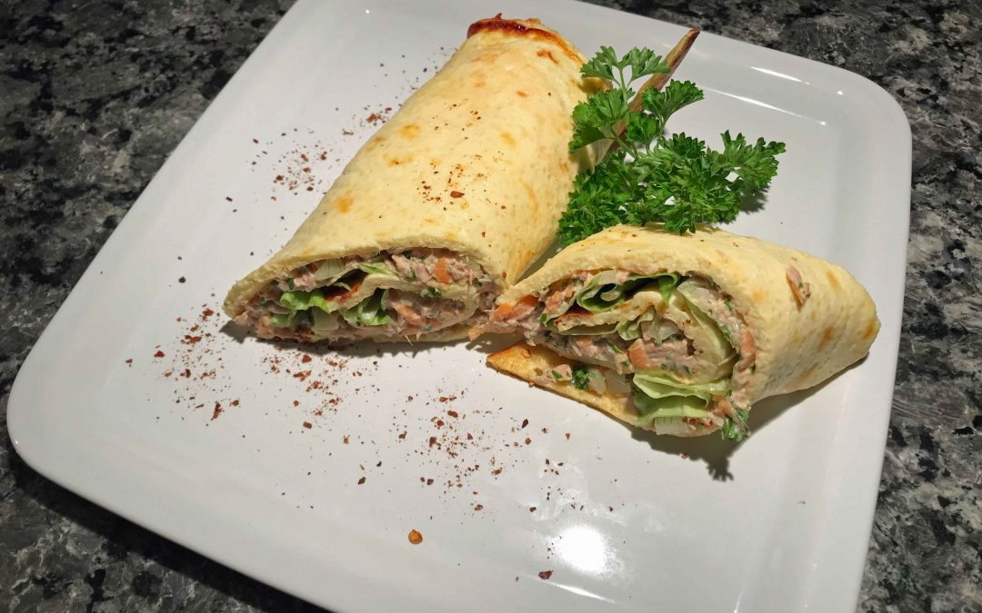 Thunfisch-Wrap Low Carb